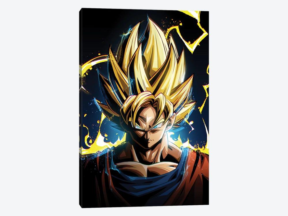 Super Saiyan Goku by Nikita Abakumov 1-piece Canvas Art
