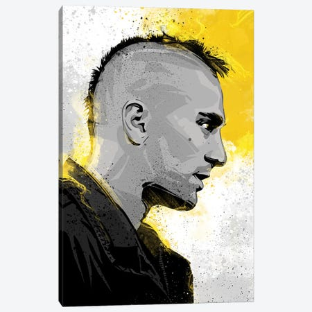 Taxi Driver Canvas Print #AKM87} by Nikita Abakumov Canvas Wall Art