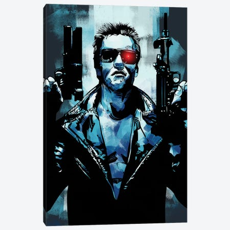 Terminator 3 Canvas Print #AKM88} by Nikita Abakumov Canvas Art Print