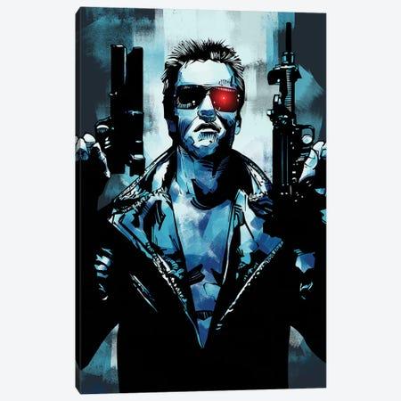 Terminator 3 Canvas Print #AKM88} by Nikita Abakumov Canvas Art Print