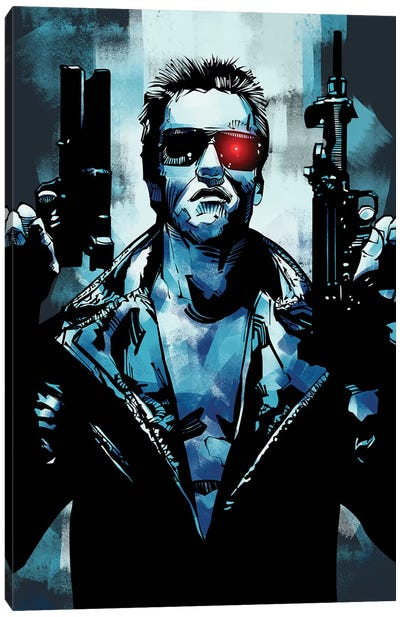 Terminator 3 Canvas Art Print