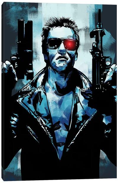 Terminator 3 Canvas Art Print