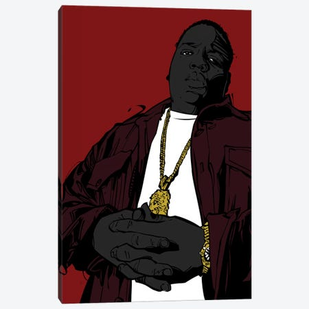 Biggie III Canvas Print #AKM8} by Nikita Abakumov Canvas Art
