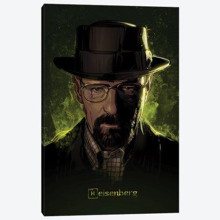 Breaking Bad Heisenberg Canvas Print #AKM9} by Nikita Abakumov Canvas Art