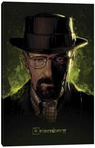 Breaking Bad Heisenberg Canvas Art Print