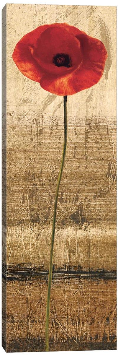 Poppy Panel II Canvas Art Print