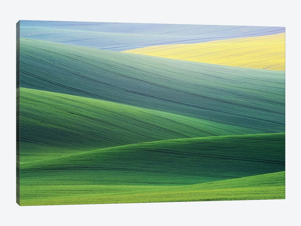 Lines by Ales Komovec 1-piece Art Print