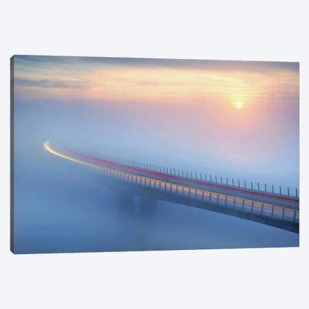 Bridge To Canvas Print #AKO6} by Ales Komovec Canvas Art Print