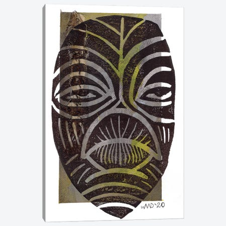 Afrique Canvas Print #AKR112} by Akaimi the Artist Art Print
