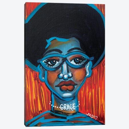 Grace Canvas Print #AKR129} by Akaimi the Artist Canvas Art