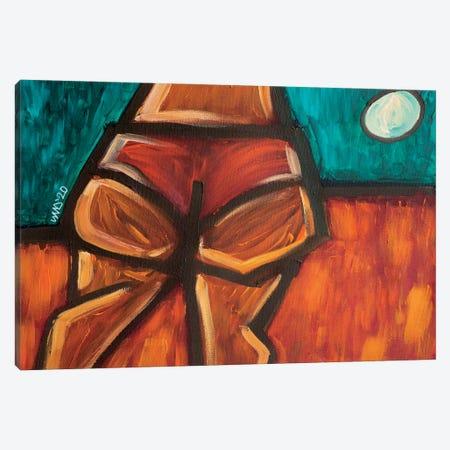 Cheeks On The Horizon Canvas Print #AKR131} by Akaimi the Artist Art Print