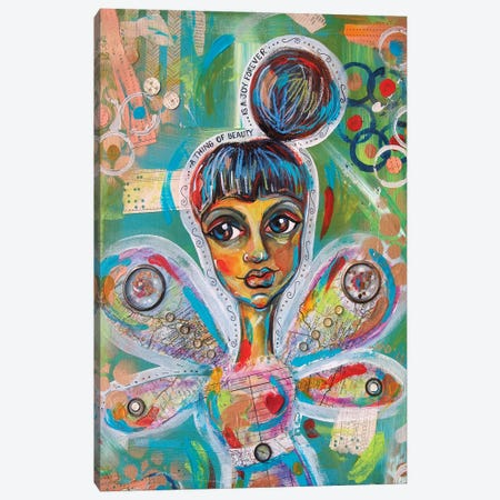 A Thing Of Beauty Canvas Print #AKR51} by Akaimi the Artist Canvas Print