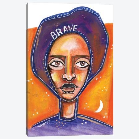 Brave Canvas Print #AKR57} by Akaimi the Artist Canvas Art