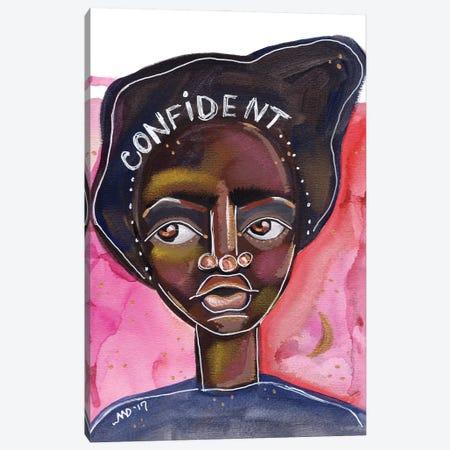 Confident Canvas Print #AKR58} by Akaimi the Artist Art Print