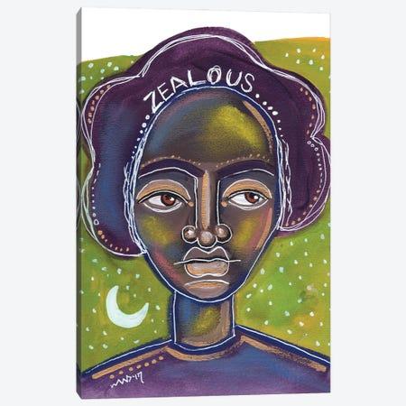 Zealous Canvas Print #AKR80} by Akaimi the Artist Canvas Artwork