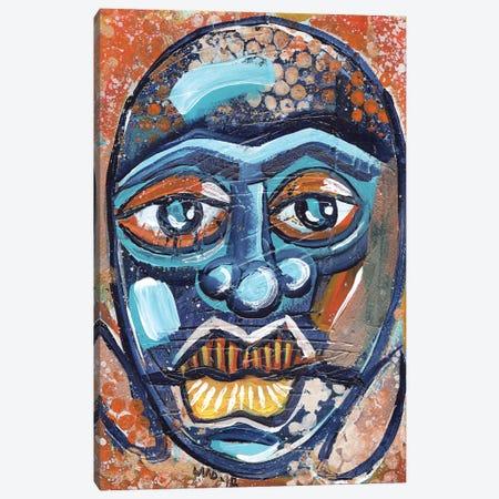 Masque Canvas Print #AKR83} by Akaimi the Artist Canvas Wall Art
