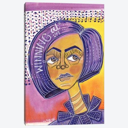 Winning Canvas Print #AKR85} by Akaimi the Artist Canvas Print