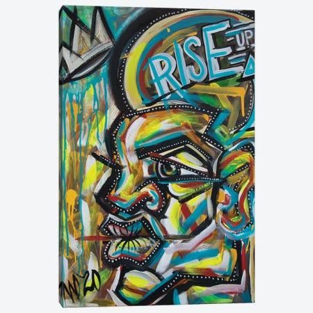 Rise Up Canvas Print #AKR98} by Akaimi the Artist Art Print