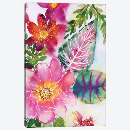 Fairy Sunset IV Canvas Print #AKS100} by Andrea Kosar Canvas Art Print