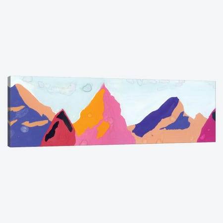Mountains: Warm And Cold Colors Canvas Print #AKS133} by Andrea Kosar Canvas Art