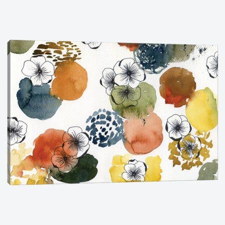 Monochrome Abstract Canvas Print #AKS136} by Andrea Kosar Canvas Art Print