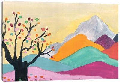 Autumn In The Mountains Canvas Art Print