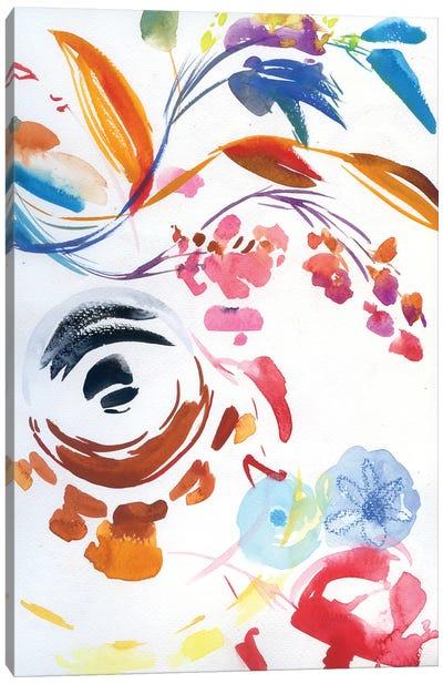Abstract World Canvas Art Print
