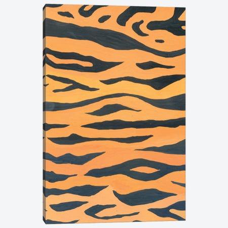 Wild Animals: Tiger Pattern Canvas Print #AKS197} by Andrea Kosar Canvas Print