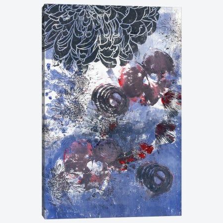 Black Peony And Onion Canvas Print #AKS21} by Andrea Kosar Art Print