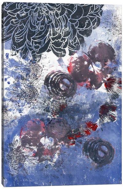 Black Peony And Onion Canvas Art Print