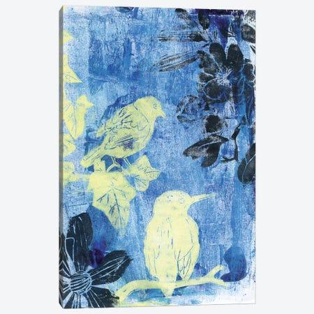 Birds In The Night Canvas Print #AKS22} by Andrea Kosar Canvas Art Print