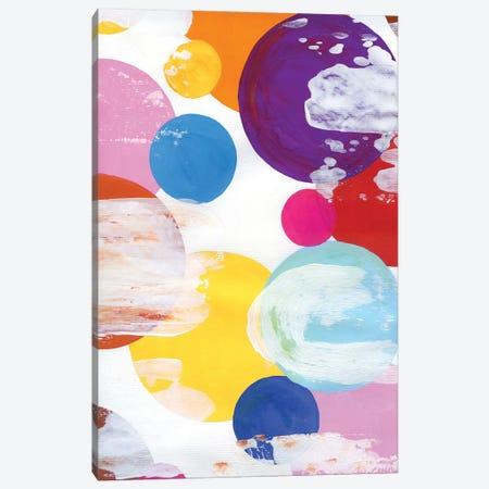 Bubbles I Canvas Print #AKS32} by Andrea Kosar Canvas Art