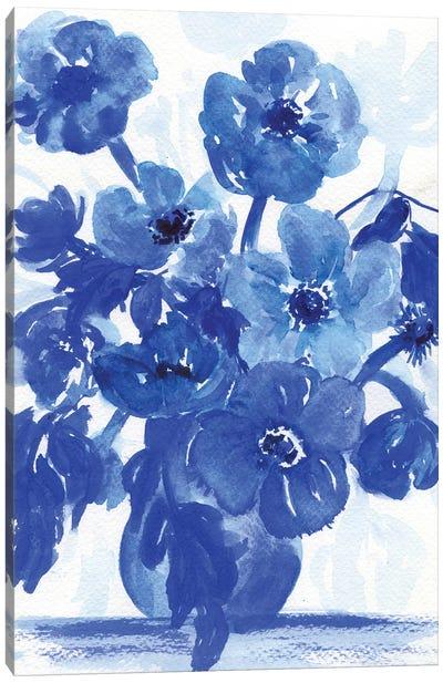 Blue Stillife Canvas Art Print