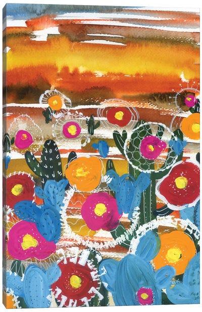 Cactus Desert Canvas Art Print