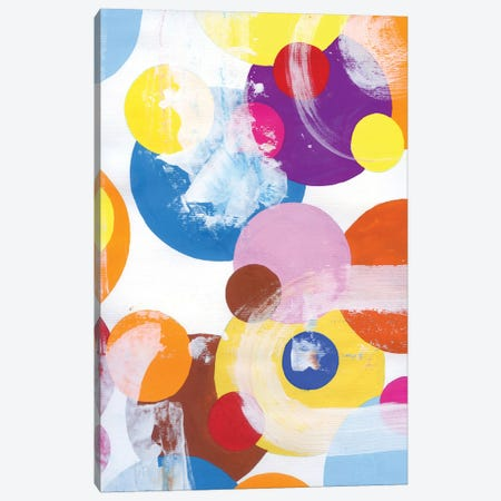 Bubbles I Canvas Print #AKS41} by Andrea Kosar Canvas Art Print