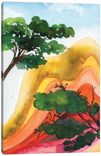 Colorful Mountains Canvas Art Print