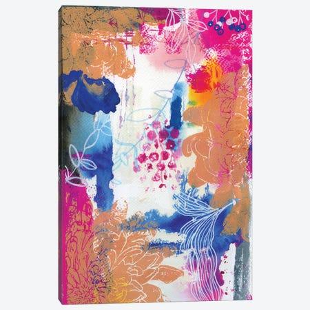 Copper Dahlia In Abstract I Canvas Print #AKS49} by Andrea Kosar Art Print