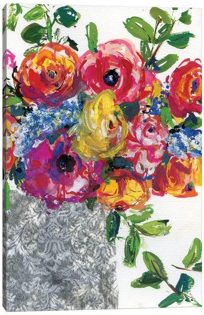 Abstract Colorful Stillife Canvas Art Print