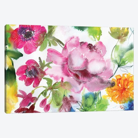 Fairy Canyon I Canvas Print #AKS64} by Andrea Kosar Canvas Artwork