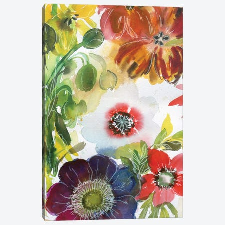 Fairy Fields VI Canvas Print #AKS72} by Andrea Kosar Canvas Art