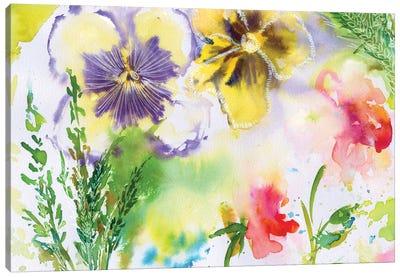 Fairy Dusk II Canvas Art Print