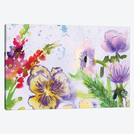 Fairy Dusk I Canvas Print #AKS74} by Andrea Kosar Canvas Print