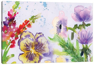 Fairy Dusk I Canvas Art Print