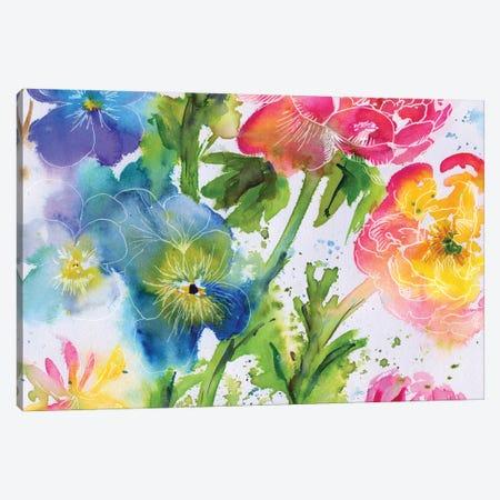 Fairy Rainbow II Canvas Print #AKS87} by Andrea Kosar Canvas Art