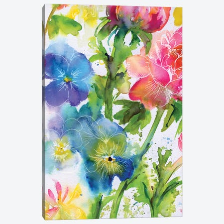 Fairy Rainbow VI Canvas Print #AKS88} by Andrea Kosar Canvas Art Print