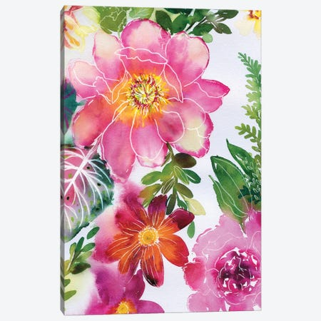 Fairy Sunset V Canvas Print #AKS99} by Andrea Kosar Canvas Artwork