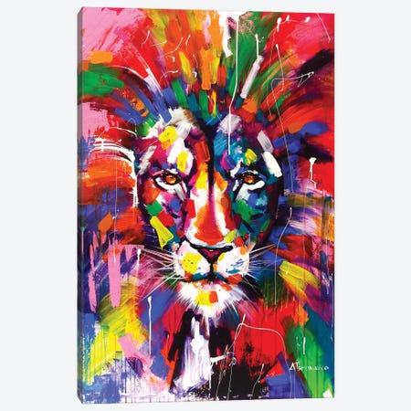 The King Canvas Print #AKT13} by Aliaksandra Tsesarskaya Art Print
