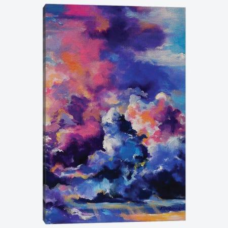 Violet Sky Canvas Print #AKT4} by Aliaksandra Tsesarskaya Art Print