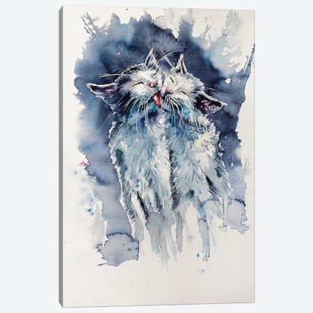 Cats Canvas Print #AKV13} by Anna Brigitta Kovacs Canvas Print