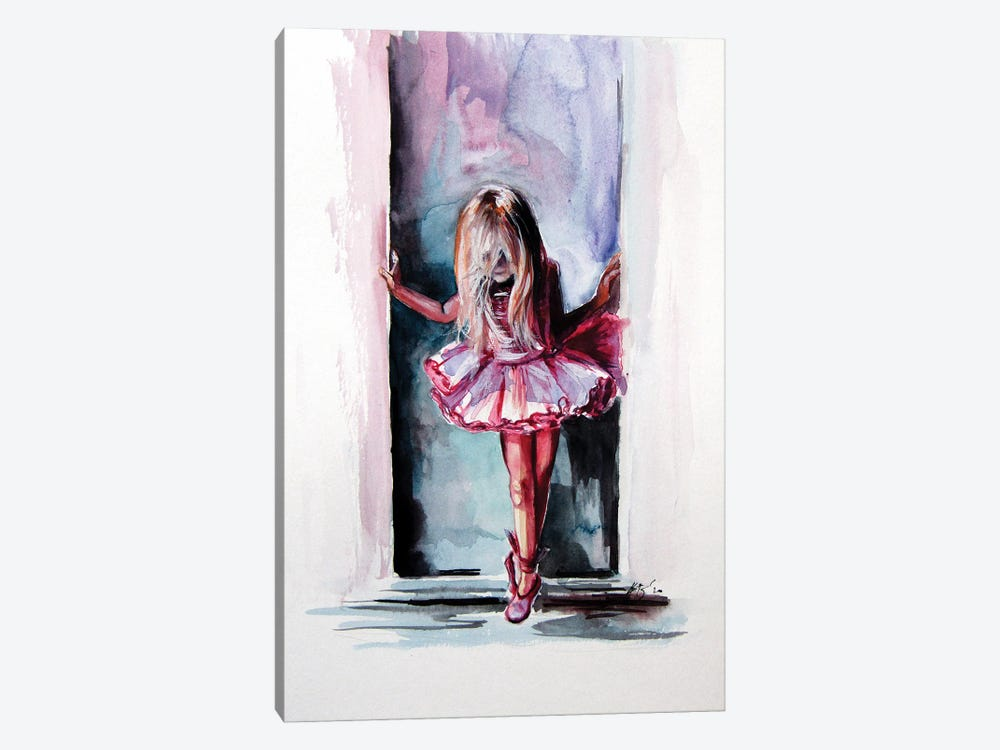 Little Ballerina by Anna Brigitta Kovacs 1-piece Canvas Art